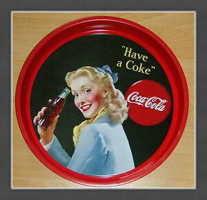 Coca-Cola-Tablett-Serviertablett-Sammlerstueck-NEU-4-Varianten-vorhanden