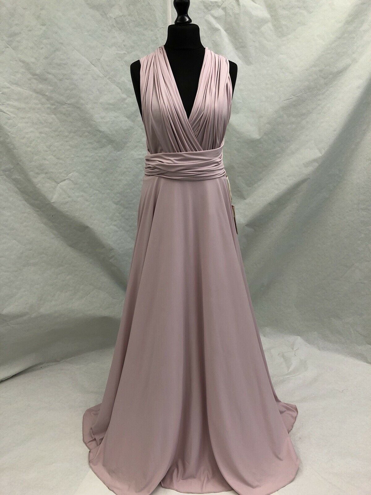 Multiway Dress Size 16 Pink BNWT PROM WEDDING BRIDESMAID RRP