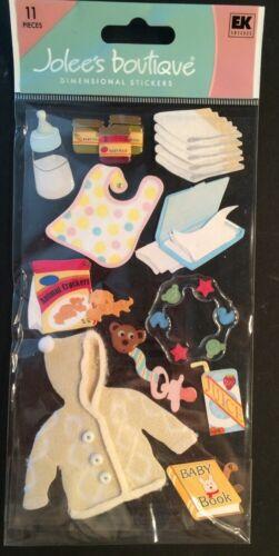 "Jolee/'s Boutique /""Diaper Bag Items/"" Dimensional Stickers"