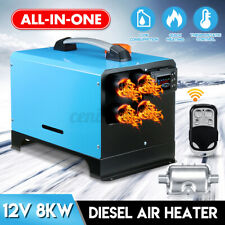 WARMTOO All In One Diesel Air Heater 8KW 12V Metal Shell For Trucks 2020NEW