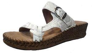 LINA SCALZATI CIABATTE pantofole da donna art 95659 bianco slippers