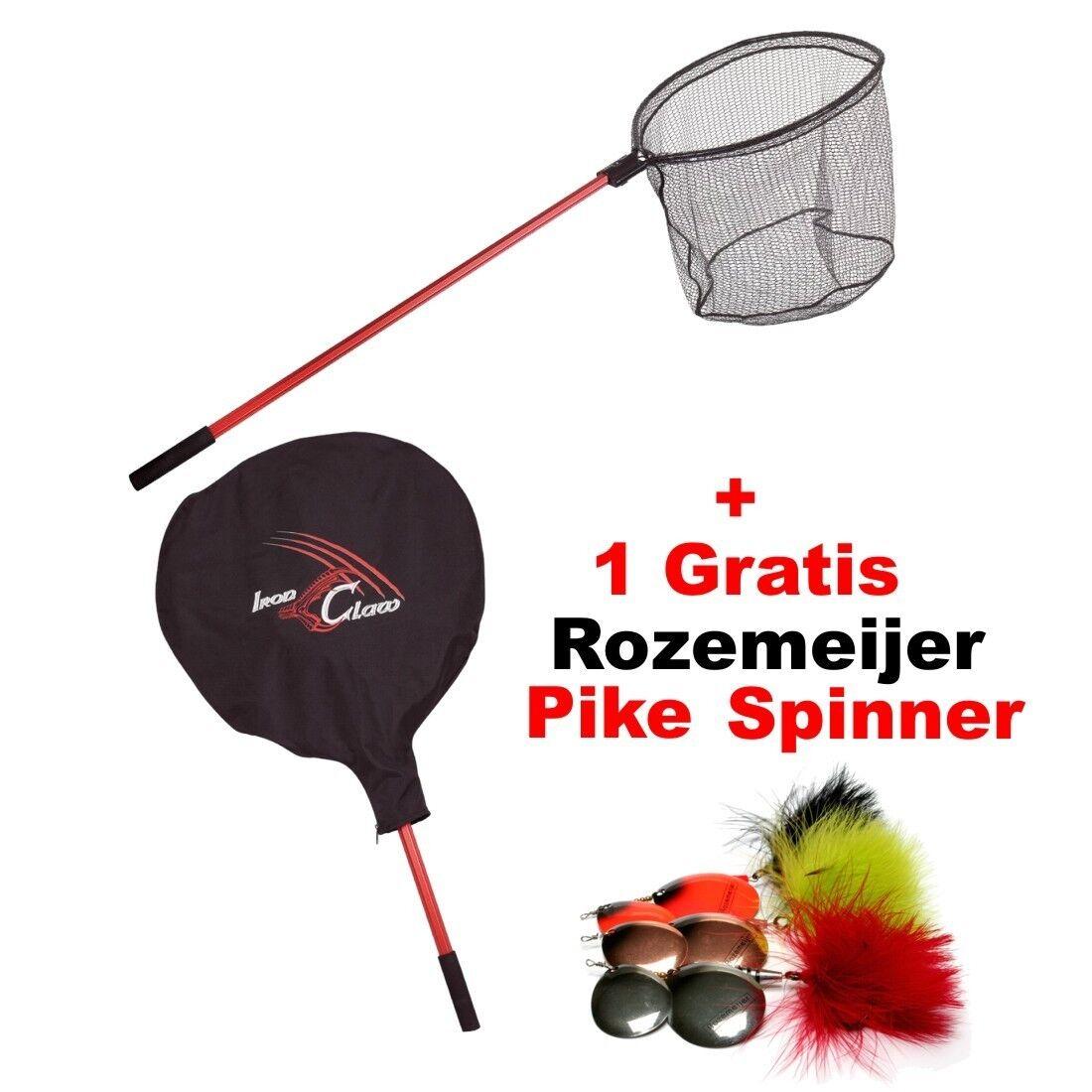 Iron Claw PROTator PROTator PROTator Net / Unterfangkescher Rubber + Rozemeijer Pike Spinner 581e4d