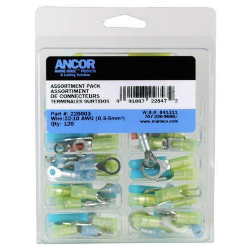 Ancor 220003 Electrical Connector Kit 120 pc