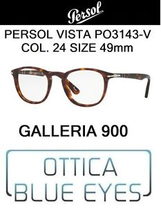 Occhiali Da Vista Persol Po 3143v Col. 24 49mm Glasses Eyewear Galleria 900