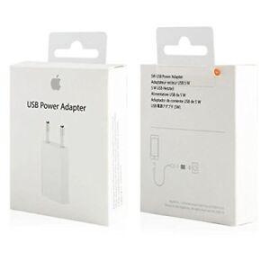 Original-Apple-USB-Adaptador-de-Corriente-1000-mAh-5-V-Modelo-MD813ZM-A-A1400