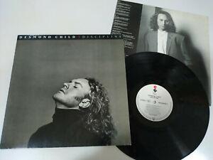 Desmond-Child-Discipline-LP-Vinyl-12-034-1991-VG-Elektra-Deutsch-Edition