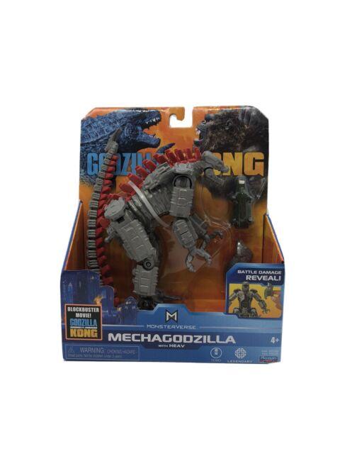"""Playmates Monsterverse Godzilla vs Kong 6"""" Mechagodzilla Figure Free Shipping ✅"""