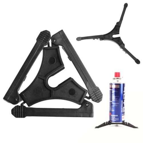 Outdoor Stoves Canister Stand Tripod Gas Bottle Shelf Gas Tank Bracket JD