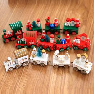 Eisenbahn Weihnachtsdeko.Details Zu 4 Stk Holz Weihnachtszug Eisenbahn Lokomotive Lok Für Weihnachten Weihnachtsdeko