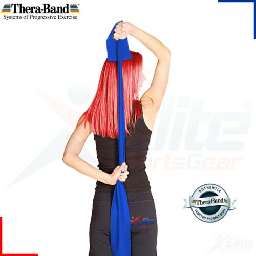 BLUE Theraband Resistance Bands Yoga Exercise Fitness Physio Strips Catapult