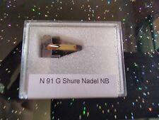 Shure Abtastnadel N 91 G Stylus  Nachbau Replica
