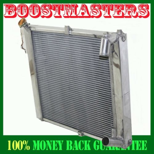 Aluminum Performance Radiator 2 Rows for 89-91 Mazda RX-7 RX7 MT FC3S
