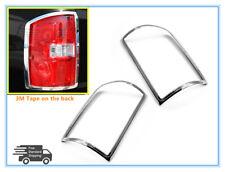 For 2014-2017 GMC Sierra Tail Light Bezel Chrome Frame Outline Cover