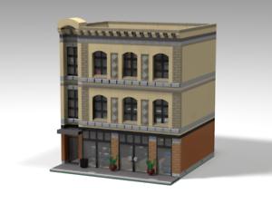 LEGO MOC Custom Modular Comic Store - PDF Instructions Only!