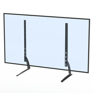 TV-Mount-Simple-Wall-Mount-40-65-034-Bracket-LCD-Screen-TV-Stand-Table-Top-Black