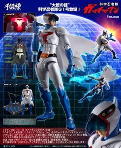 Sentinel-Tatsunoko-Heroes-Fightingear-Gatchaman-1-Ken-L-039-aquila-Action-Figure