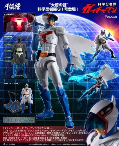 Sentinel Tatsunoko Heroes Fightingear Gatchaman 1 Ken L/'aquila Action Figure