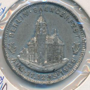 CANADA-MEDAL-1891-SANGERFEST-LEROUX-1635B-WHITE-METAL