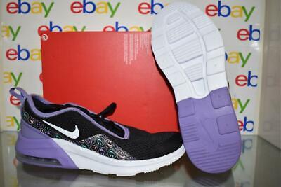 Nike Air Max Motion 2 Print Girls Running Shoes BQ9024 001 PurpleBlack Size 6 | eBay