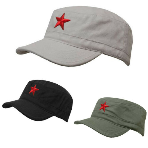 SOVIET Army Russian Red Star Hat Cap Fancy Dress Cadet MILITARY SOLDIER