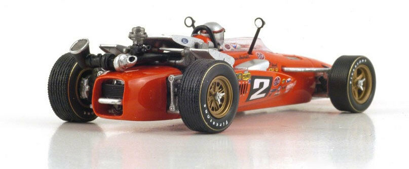 Spark Spark Spark 43IN69 Brawner-Hawk STP Winner Indy 500 1969 - Mario Andretti 1 43 Scale 044049