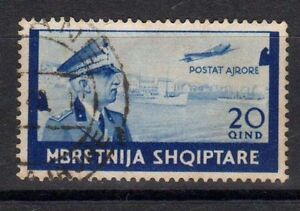 Occupazione-Italiana-ALBANIA-1940-20q-Posta-Aerea-USATO-CL