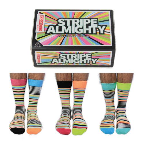 Socken Stripe Almighty Oddsocks in 39-46 Strümpfe verrückte Socken im 6er Set