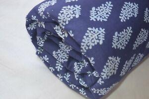 5-Yard-Indian-Handmade-Sanganer-Print-cotton-fabric-Hand-Block-Fabric-Floral