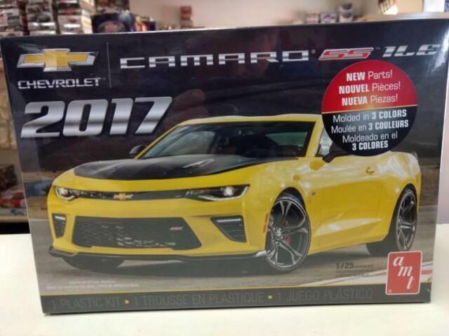Camaro Ss 1le For Sale >> Amt 1074m Chevrolet 2017 Camaro Ss 1le Model Kit