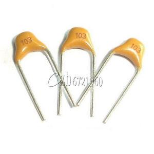 50Pcs-NEW-0-01uF-103-50V-Monolithic-Ceramic-Chip-Capacitor