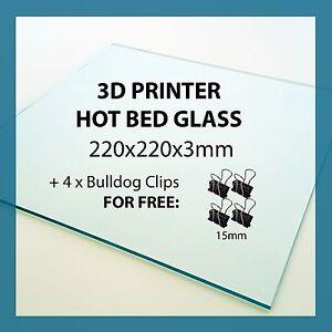 220mm-x-220mm-x-3mm-3D-PRINTER-GLASS-for-print-bed-Anet-A8-Tronxy-Reprap-Prusa