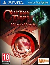 Corpse Party Blood Drive PS Vita * NEW SEALED PAL *