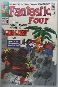 Fantastic-Four-44-1st-App-Gorgon-Kirby-Medusa-Stan-Lee-Silver-Age-Marvel-Comics