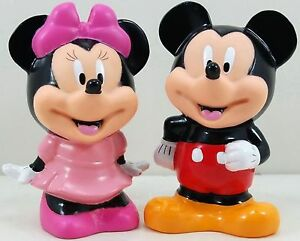 5-Mickey-Minnie-Mouse-Coin-Piggy-Banks-MoneyBoxes-Set-2pc