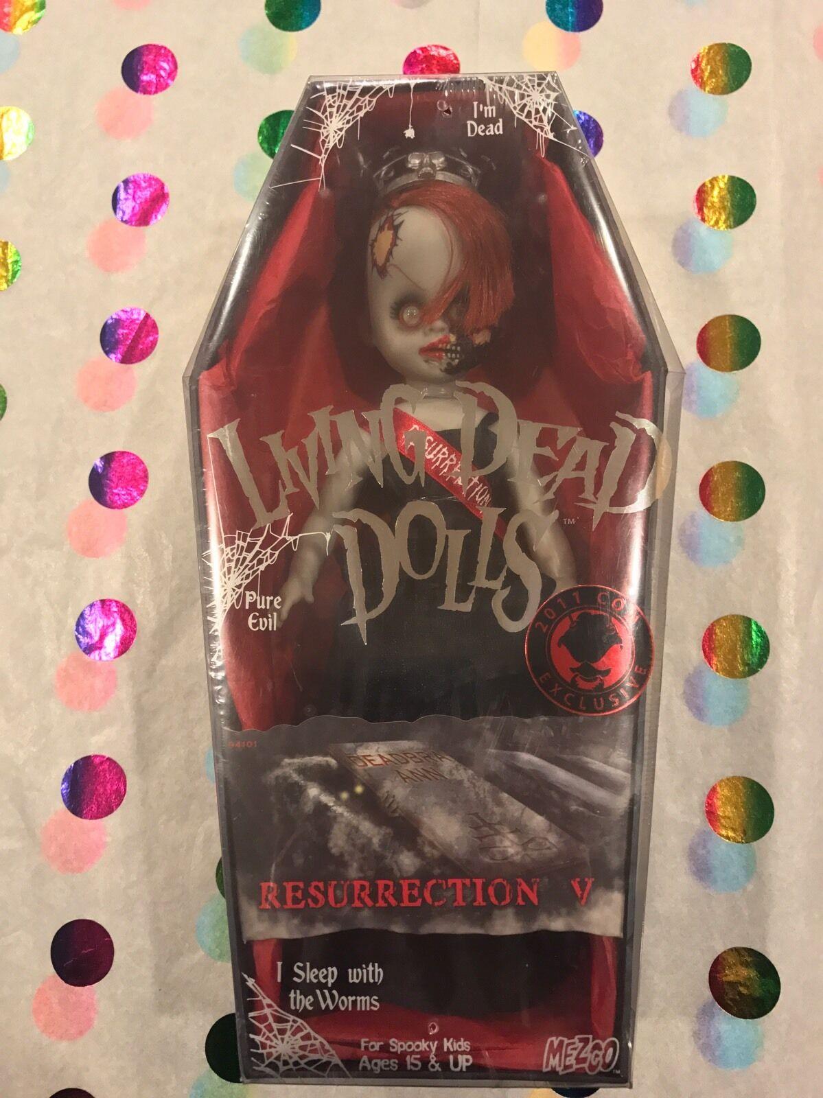 Living Dead Dolls resurrección V deadbra Ann Sellado Envío Gratis