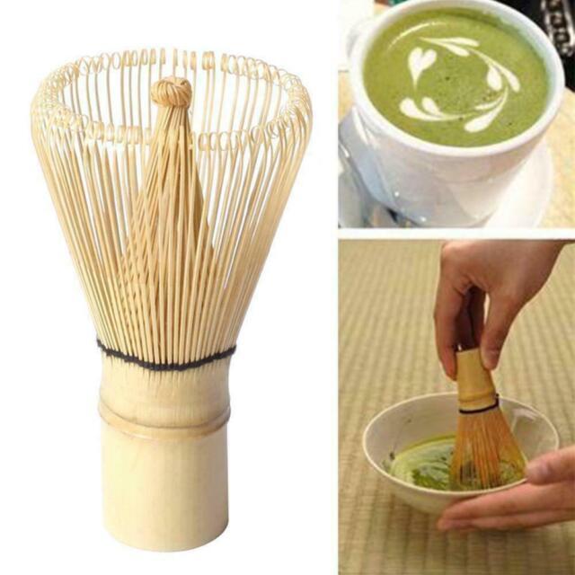 Japanische Bambus Matcha Schneebesen Pinsel Professionelle GrüNtee Pulver S W9U7