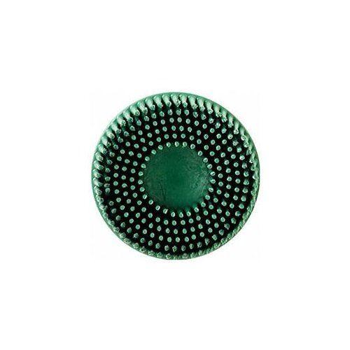 """3m 07524 2/"""" Scotch-brite Roloc Bristle Discs 50 Grit Coarse Green"""