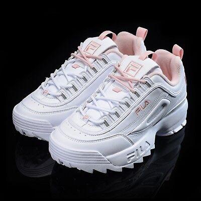 FILA Disruptor II 2 White Pink Shoes