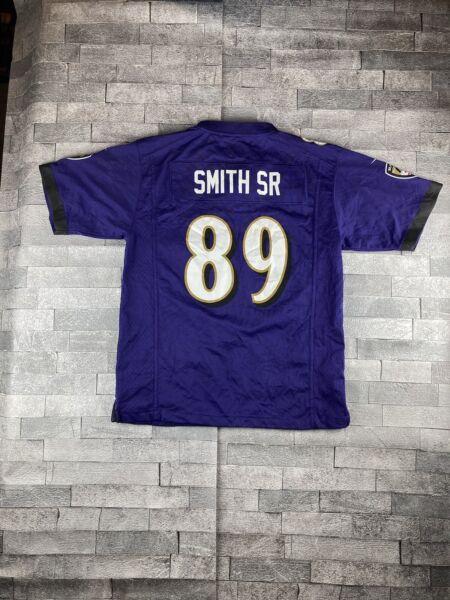 Baltimore Ravens Smith Sr #89 Nike NFL Jersey - Child Size L (14 ...