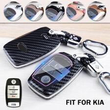 Abs Smart Car Key Fob Case Cover Keychain Holder For Kia Optima Sorento Soul Fits Kia Soul