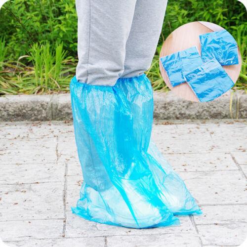 10 Paar Haushaltsregeln wasserdichte Einweg-Schuhüberzieher Überschuhe Covers