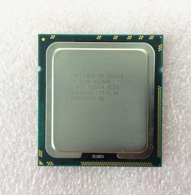 Intel Xeon E5640 2.66GHz 12MB 5.86GT/s QPI SLBVC Quad-Core Processor DELL HP IBM