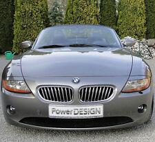 Eyebrows for BMW Z4 E85 / E86 2002-2008 headlight eyelids lids ABS Plastic