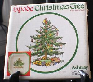 England Christmas Tree.Details About Vintage In Original Box Spode England Christmas Tree Pattern S3324 Ashtray