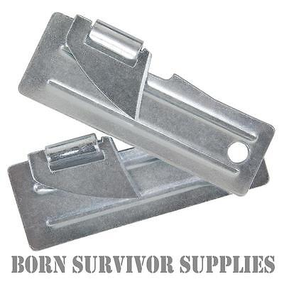 2 x BCB MINI COMPACT TIN CAN OPENER - Survival Military Army Travel Openers UK
