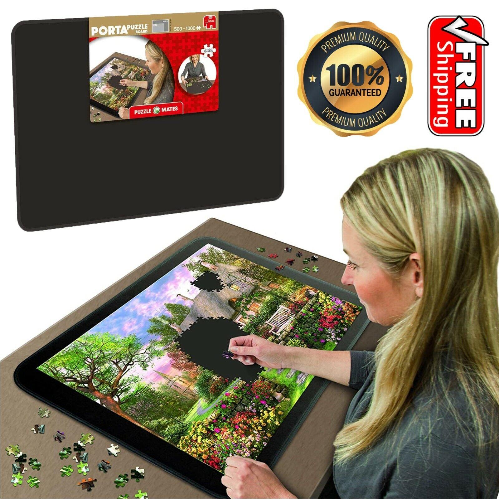 Jumbo Jigsaw Puzzle Mat 500-1000Pc Puzzle Board Storage Portable 54x75cm