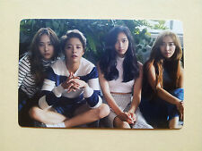 FX F(X) 2016 Season's GREETINGS CALENDAR [ OFFICIAL ] PhotoCard - Group (A type)