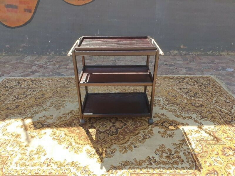 Very handy Three Tier serving trolley with a serving tray
