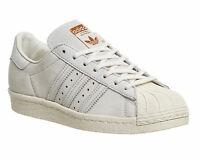Mens Adidas Superstar 80s CHALK WHITE COPPER EXCLUSIVE Trainers Shoes