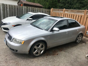 2005 Audi A4 6 speed Manual 1500 obo! Need gone!!
